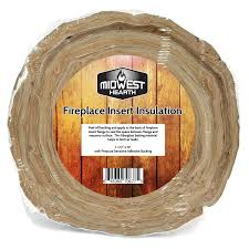 com midwest hearth fireplace insert insulation 10 roll w self adhesive backing garden outdoor