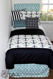 nautical navy and blue teen bedding anchor bedding we love this preppy and coastal