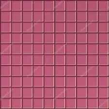 3 S Render Quadrat Rosa Badezimmer Fliesen Oberfläche Stockfoto