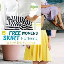 Free Skirt Patterns Inspiration 48 Free Skirt Patterns To Sew For The Summer AppleGreen Cottage