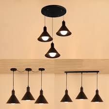 metal conical shade pendant light 3