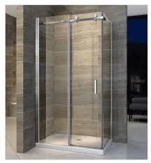 jenbely glass shower screen 8mm 1 sliding door rectangle 900 x 900 x 1950mm vinod patel