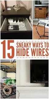 Best 25 Hiding Wires Ideas On Pinterest Hiding Cords Hide