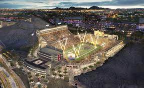 Sun Devil Stadium Seating Chart 2016 Look New Renderings For Arizona States 250 Million