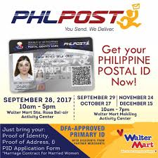 Your At Philippine - Id Mart Facebook Get Walter Mall Walter Postal