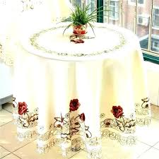 round tablecloth table linens white round tablecloth home and interior extraordinary round table cloths at