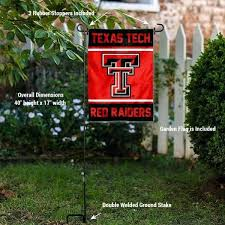 texas flag dimensions tech red raiders garden flag and holder and garden flag stand sets for