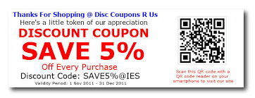 Example Of A Coupon Fascinating Discount Coupon Example InstanteStore Ecommerce Blog