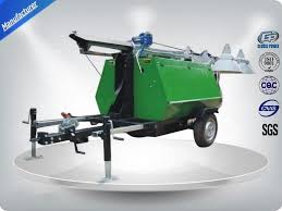 Truck Mounted Led Light Tower Portable Led Light Towers Telescoping Mast Trailer Mounted