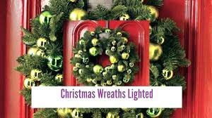 large lighted wreaths large outdoor wreaths this breathtaking outdoor lighting holiday large outdoor lighted