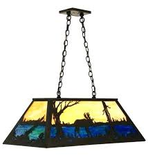 stain glass pool table light stained glass pool table lighting custom lights vintage antique stained glass