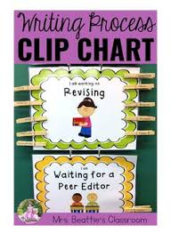 Writing Process Clip Chart Writing Process Clip Chart French Products Writing