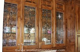 cabinet door stained glass 1
