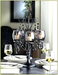 chandeliers chandelier candle holder black holders home design ideas in inspirations 9 centerpiece