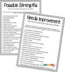 List Of Strengths For Interview Love This List Of Possible Strengths And Areas For Improvement For
