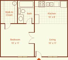 One Bedroom Apartment Design Cool 48 Sq Ft Apartment Floor Plan Google Search 48 Sq Ft Floorplan