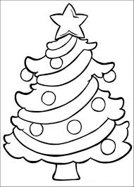 Small Picture Coloring Pages Christmas Trees aecostnet aecostnet