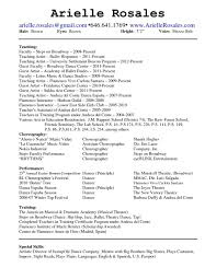 Child Actor Resume 20 Acting Template Free Musical Theater Sample