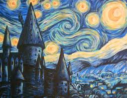 starry night painting technique 124 best vincent van gogh s starry night as images on