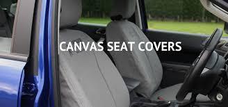 custom canvas vehicle seat covers
