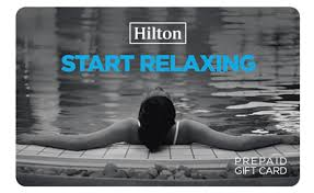 start relaxing with hilton gift card