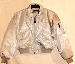 schott silver cwu flight pilot er jacket made in usa rare