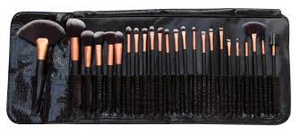 rio 24 piece professional cosmetic make up brush set