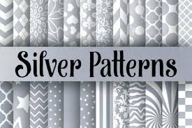 Silver Patterns Delectable Silver Patterns Digital Paper International Identification Towle