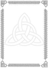 Decorative Borders For Word Free Celtic Border Clipart Unique Designs To Download Design