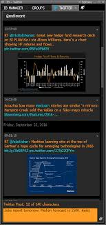 Bloomberg Organizational Chart Bloomberg Subscribers Can Now Post To Twitter From The