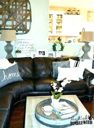 living room ideas with dark brown couches brown couch decorating ideas dark brown leather sofa decorating ideas brown leather furniture decorating idea