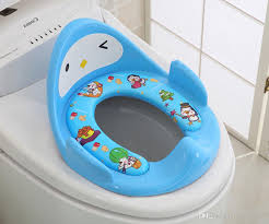 2018 kids toilet toddlers pot baby potty trainer boys girls toilet seat training potty children baby super soft toilet seat cover from cherrylee20