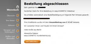 easycosmetic schweiz