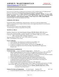 Sample Resume Of Net Developer Sample Resume Of Net Developer Resume Examples 6