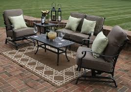 Patio 8 Person Outdoor Dining Cast Aluminum Set Metal Patio Metal Outdoor Patio Furniture Sets