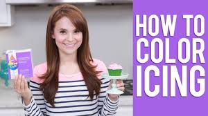 Wilton Color Right Performance Color System Chart How To Color Icing Rosanna Pansino Video Tutorial
