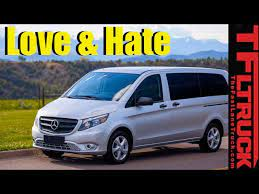 Sharing a sturdy chassis with the metris cargo van, it provides more rugged towing strength than rivals, plus a vast cargo capacity. Top 5 Things We Love Hate About Mercedes Benz Metris Youtube