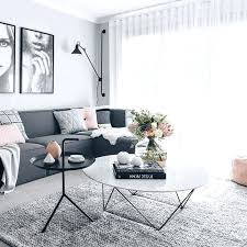 gray and white living room rug living room red lamp shade grey tile pattern fabric vertical curtain metal leg accent chair shiny grey and white living room