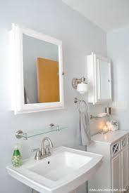 small bathroom pedestal sink sweet idea