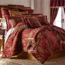 China Art Ruby Red Asian Inspired Comforter Bedding | Red ... & China Art Red Comforter Set Ruby Adamdwight.com
