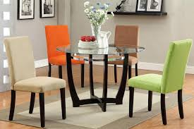 glass top dining room table and chairs glass dining table sets 4 best black glass dining