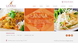 Restaurant Website Design Serious Modern Restaurant Web Design For Thumb Frenzy Labz