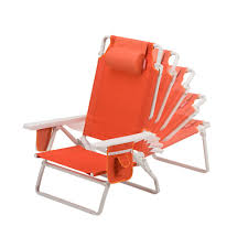 coleman beach chair recliner orange camping this coleman beach chair recliner has it all it can be used at the beach or as a