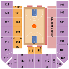Uci Bren Events Center Seating Chart Irvine