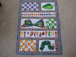 Baby Quilt from The Very Hungry Caterpillar Fabric ... & Baby Quilt from The Very Hungry Caterpillar Fabric Adamdwight.com