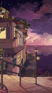 Anime Scenery Wallpaper Iphone Retro ...