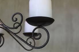 Details Zu Kerzen Kronleuchter Lüster Vintage Landhaus Shabby Hängeleuchter Deckenhänger