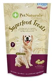 Pet Naturals Of Vermont – <b>Superfood</b> Treats For Dogs, Peanut Butter ...