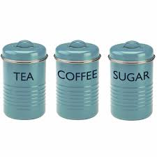Green Canister Sets Kitchen Tin Kitchen Canisters Get Organized Set Of 4 Tin Kitchen