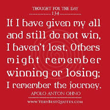 Quotes About Winning And Losing Classy Positive Thought Of The Day On Winning And Losing Collection Of